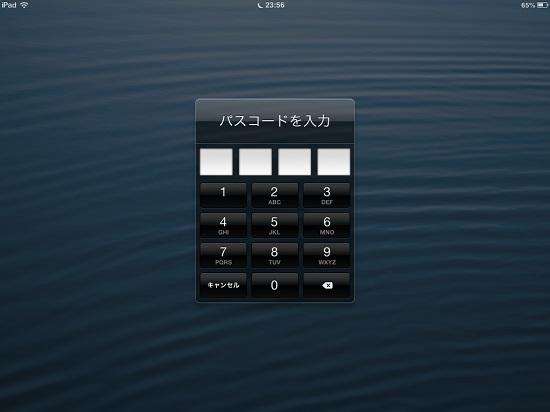 iPad mini passcode lock09