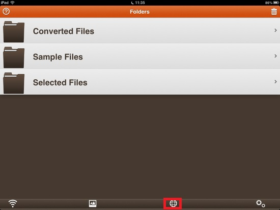 iFiles Converter01
