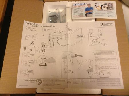 Ergotron LX desk mount arm01