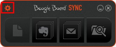 Boogie board Sync9.7 ファイル管理01